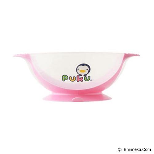 PUKU Non-Slide Baby Bowl [P14311-P] - Pink - Perlengkapan Makan dan Minum Bayi